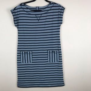 Talbolts Stripped dress size xs with pockets